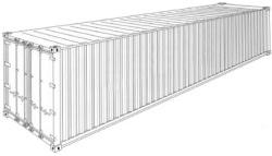 Konteiner Dry Cargo 40