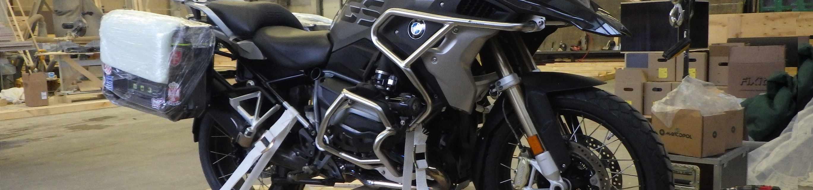 Moottoripyörä Saksasta